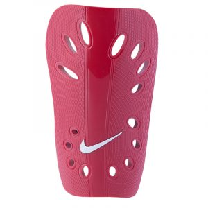 RED SOCCER SHIN GUARDS